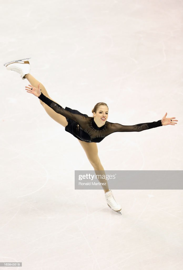 Carolina Kostner of Italy competes in the Ladies Free Skating during the 2013 ISU World Figure Skating Championships at Budweiser Gardens on March 16, 2013 in London, Canada.