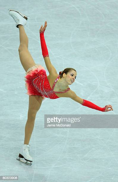 Carolina Kostner of Italy in action during her Free Skate during the ISU World Figure Skating Championships at the Scandinavium Arena on March 20...