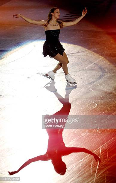 Carolina Kostner of Italy performs during the ISU World Figure Skating Championships World Champions Gala on April 1 2012 in Nice France