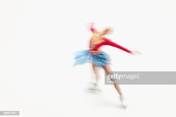 Carolina Kostner of Italy skates in the Ladies Free Skating during Lexus Cup of China ISU Grand Prix of Figure Skating 2013 at Beijing Capital...