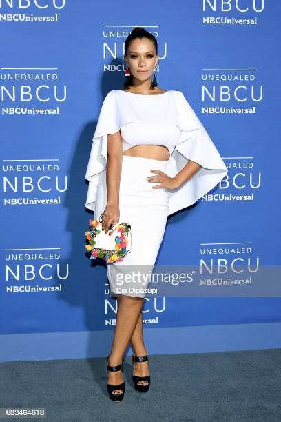 Carolina Miranda attends the 2017 NBCUniversal Upfront at Radio City Music Hall on May 15 2017 in New York City
