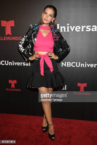 Carolina Miranda attends the NBCUniversal International Offsite Event at LIV Fontainebleau on November 9 2017 in Miami Beach Florida