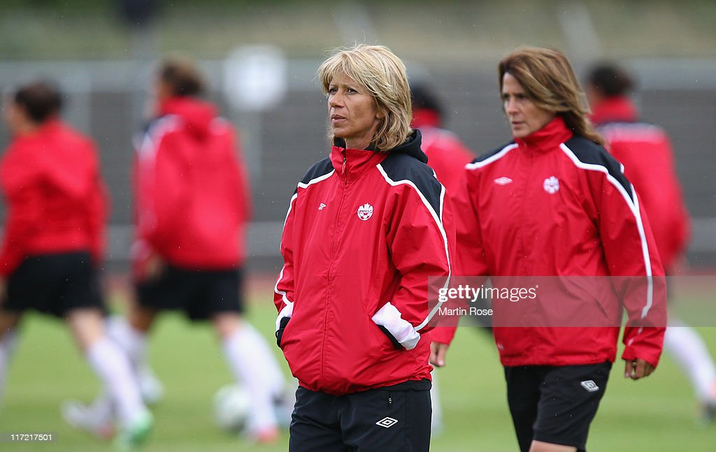 Canada Training Session - FIFA Women's World Cup 2011 : News Photo