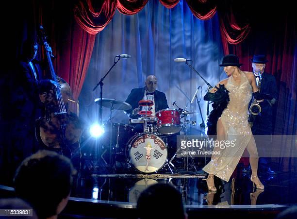"Carolina of Forty Deuce on the ""Jimmy Kimmel Live"" show on ABC - Photo by Jaimie Trueblood/WireImage/ABC"