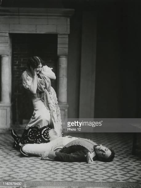 Carolina Otero known as La Belle Otero Spanish singer and cabaret dancer c1900 Francois Taponier collection
