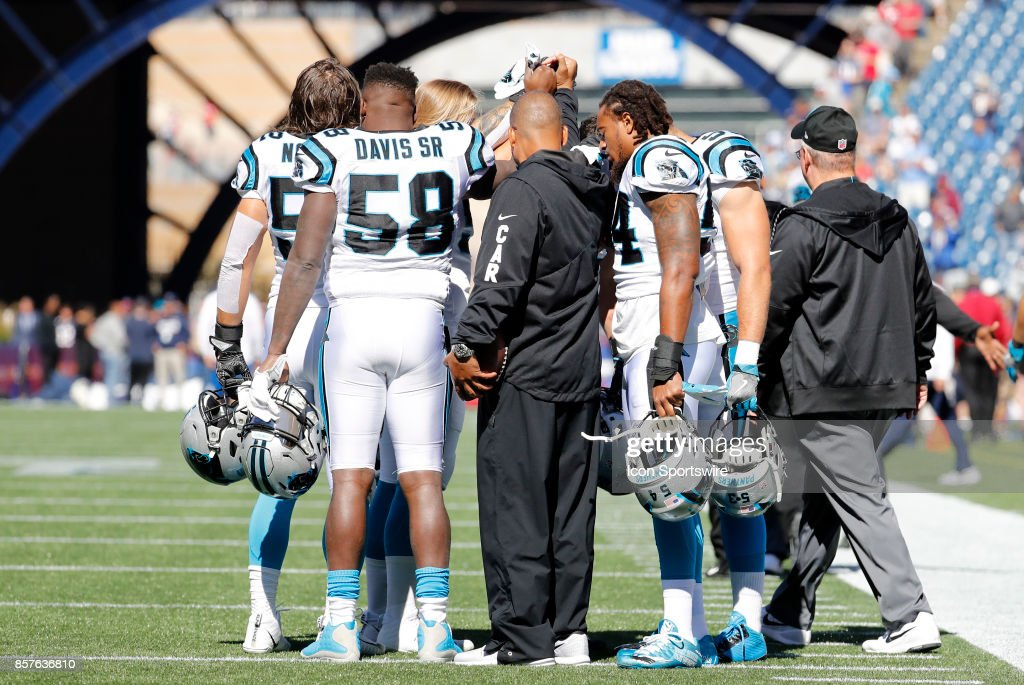 NFL: OCT 01 Panthers at Patriots : News Photo