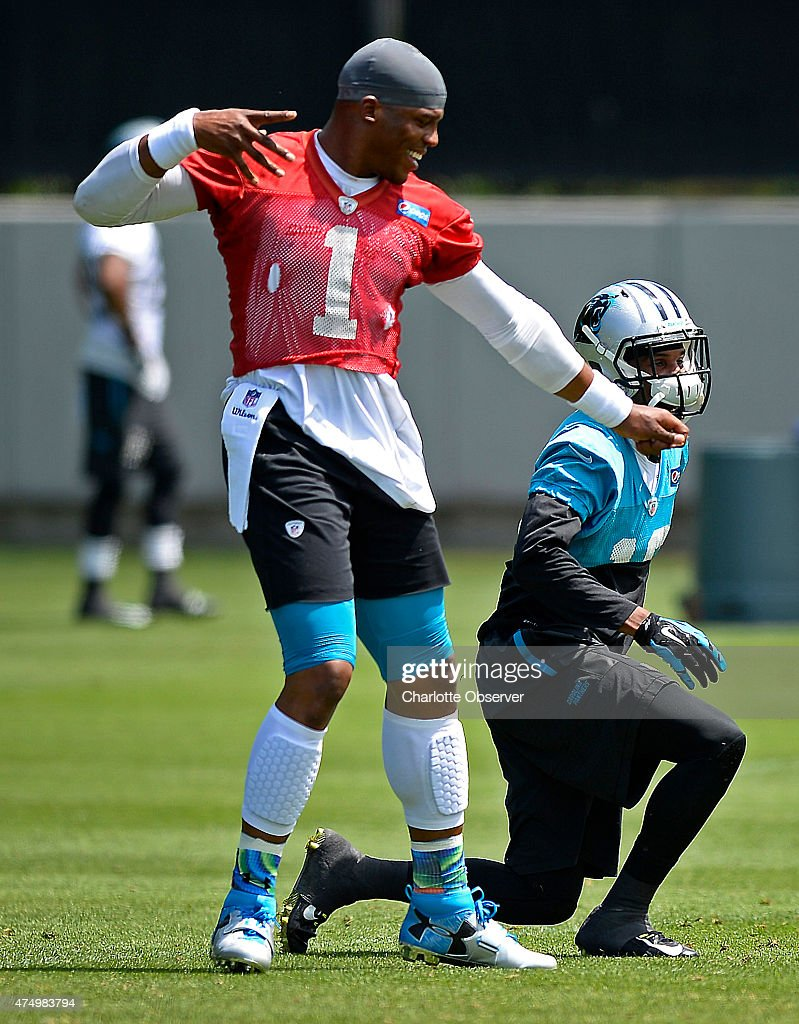 Panthers practice : News Photo