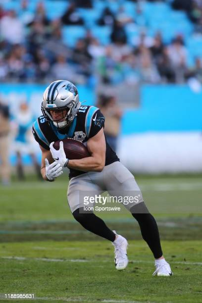 Carolina Panthers wide receiver Chris Hogan runs with the ball during the 2nd half of the Carolina Panthers versus the Seattle Seahawks on December...