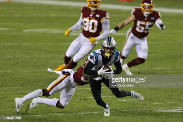 Carolina Panthers Wide Receiver Robby Anderson during the NFL game between the Carolina Panthers and the Washington Football Team on December 27 at...
