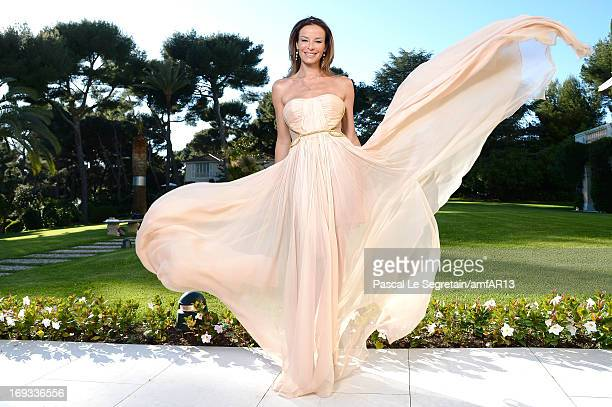 Carolina Parsons attends amfAR's 20th Annual Cinema Against AIDS during The 66th Annual Cannes Film Festival at Hotel du CapEdenRoc on May 23 2013 in...