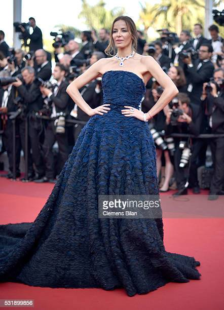 Carolina Parsons attends the Julieta premiere during the 69th annual Cannes Film Festival at the Palais des Festivals on May 17 2016 in Cannes France