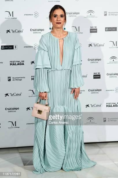 Carolina Ramirez attends 'Los Dias Que Vendran' premiere during the 22th Malaga Film Festival on March 20 2019 in Malaga Spain