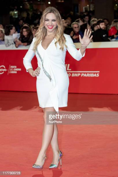 Carolina Rey attends the 'Il Ladro di Giorni' red carpet during the 14th Rome Film Festival on October 20 2019 in Rome Italy