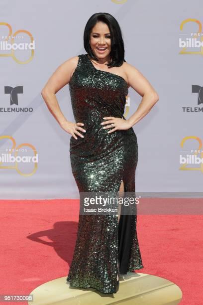 Carolina Sandoval attends the 2018 Billboard Latin Music Awards at the Mandalay Bay Events Center on April 26, 2018 in Las Vegas, Nevada.