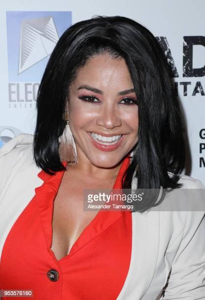 """Carolina Sandoval attends the """"Bad Samaritan"""" movie premiere at Landmark Theatres at Merrick Park on May 1, 2018 in Coral Gables, Florida."""