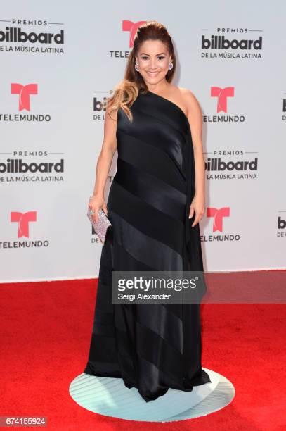 Carolina Sandoval attends the Billboard Latin Music Awards at Watsco Center on April 27 2017 in Coral Gables Florida