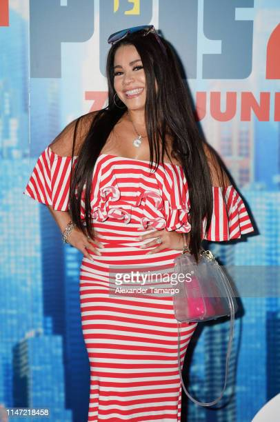 Carolina Sandoval attends the Telemundo Symphony Screening For The Secret Life Of Pets 2 at CineBistro Doral on June 1 2019 in Miami Florida