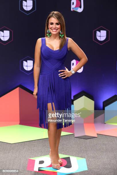 Carolina Sarossa attends the Univision's 'Premios Juventud' 2017 Celebrates The Hottest Musical Artists And Young Latinos ChangeMakers at Watsco...
