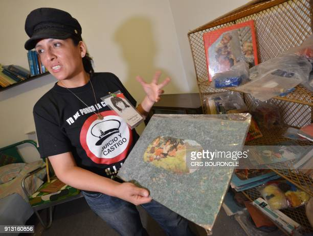 Carolina shows her cousin Dora Oyagues bedroom and her belongings left untouched to honor her memory since she disappeared in 1992 in a middleclass...