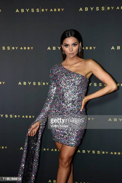 Carolina Urrea attends Abyss By Abby Arabian Nights Collection Launch Party at Casita Hollywood on January 21 2020 in Los Angeles California