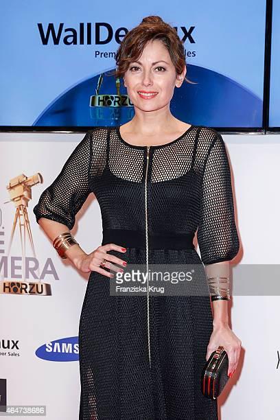 Carolina Vera attends the Goldene Kamera 2015 on February 27 2015 in Hamburg Germany