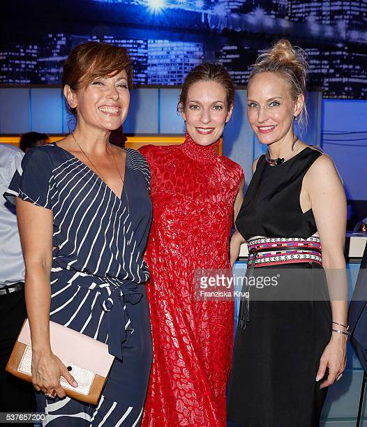 Carolina Vera Lisa Martinek and Anne MeyerMinnemann during the 'Return to Love' By GALA and Tiffany Co on June 02 2016 in Berlin Germany