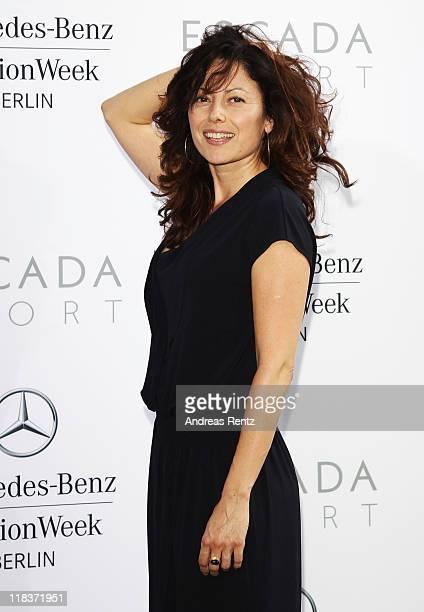 Carolina Vera Squella attends the Escada Sport Show during MercedesBenz Fashion Week Berlin Spring/Summer 2012 on July 6 2011 in Berlin Germany