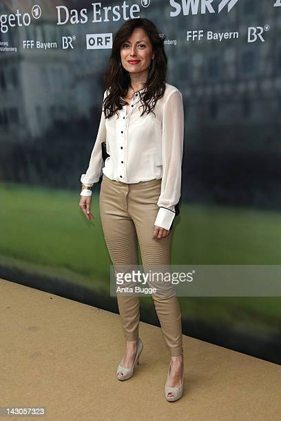 Carolina VeraSquella attends the 'Heimkehr' preview at Astor Film Lounge on April 18 2012 in Berlin Germany