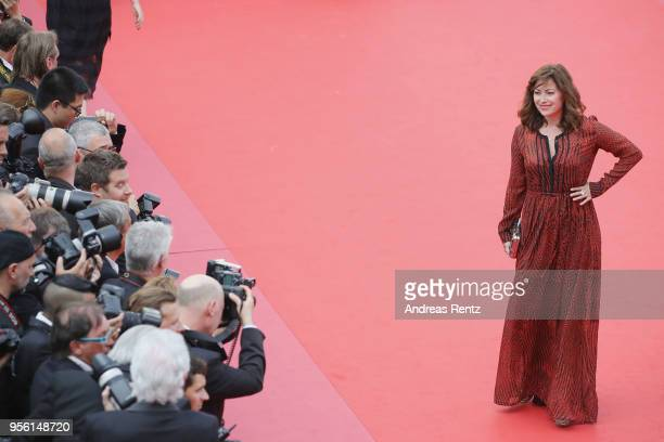 Carolina VeraSquella attends the screening of Everybody Knows and the opening gala during the 71st annual Cannes Film Festival at Palais des...