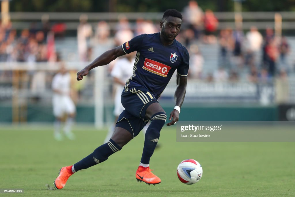 Carolina's Christian Ibeagha (NGA). The North Carolina Football Club hosted the Charlotte Independence on May 31, 2017, at Sahlen's Stadium at WakeMed Soccer Park in Cary, NC in a 2017 Lamar Hunt U.S. Open Cup Third Round match. NCFC won the game 4-1.