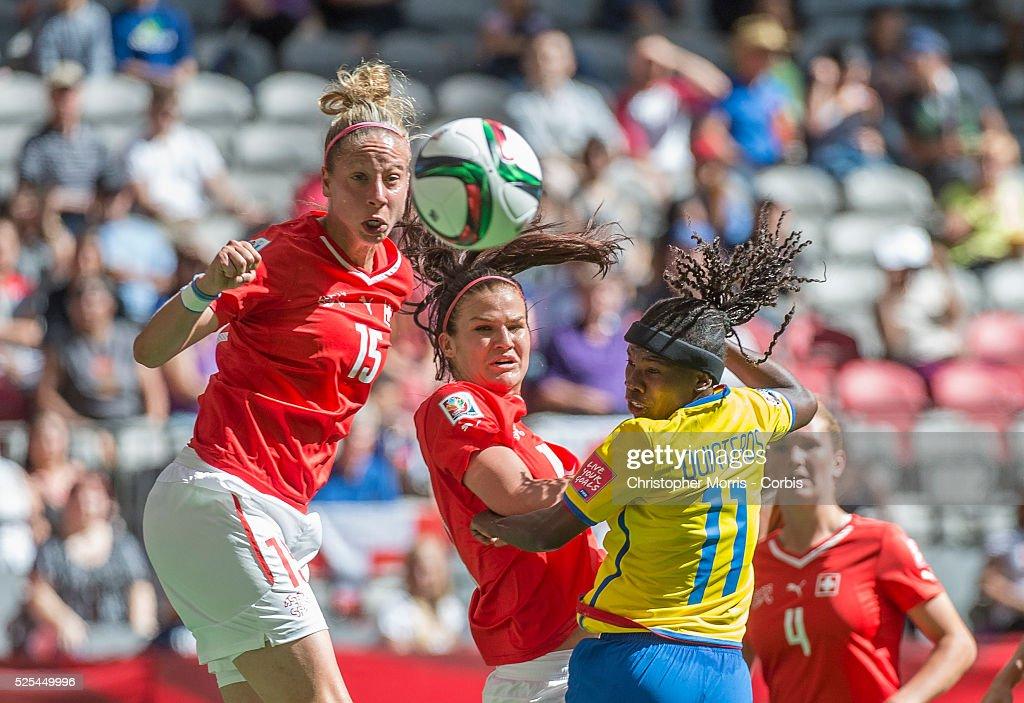 FIFA Women's World Cup 2015-Switzerland vs. Ecuador : News Photo