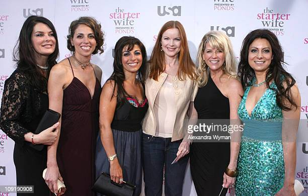 Caroline Alexander Deb Cohen Maggie LaVay Marcia Cross Kimberly Bearden and Debbie Gisonni