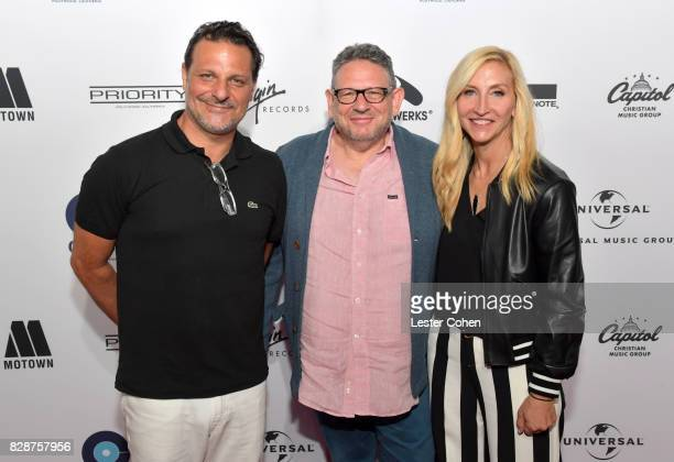 Caroline and Harvest Records Co-General Manager Piero Giramonti, Chairman and Chief Executive Officer of Universal Music Group Lucian Grainge and...