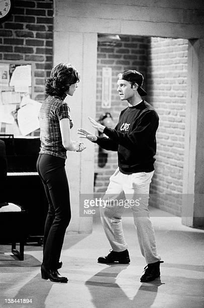 CITY Caroline and the Cat Dancer Episdoe 3 Air Date Pictured Amy Pietz as Annie Viola Spadaro David Hyde Pierce as Jimmy Callahan