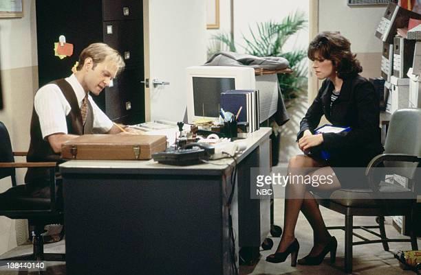 CITY Caroline and the Cat Dancer Episdoe 3 Air Date Pictured David Hyde Pierce as Jimmy Callahan Amy Pietz as Annie Viola Spadaro
