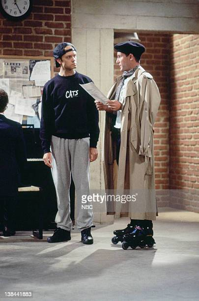 CITY Caroline and the Cat Dancer Episdoe 3 Air Date Pictured David Hyde Pierce as Jimmy Callahan Eric Lutes as Del Cassidy