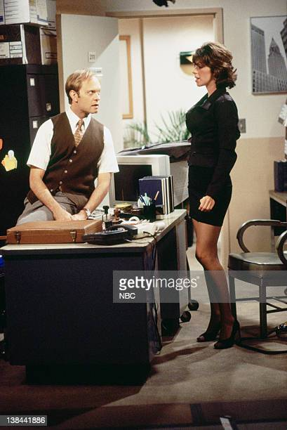 "Caroline and the Cat Dancer"" Episdoe 3 -- Air Date -- Pictured: David Hyde Pierce as Jimmy Callahan, Amy Pietz as Annie Viola Spadaro"