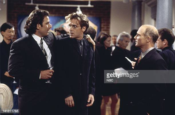 CITY 'Caroline and the Gay Art Show' Episode 3 Aired 10/5/95 Pictured Eric Lutes as Del Cassidy Malcolm Gets as Richard Karinsky Dan Butler as...