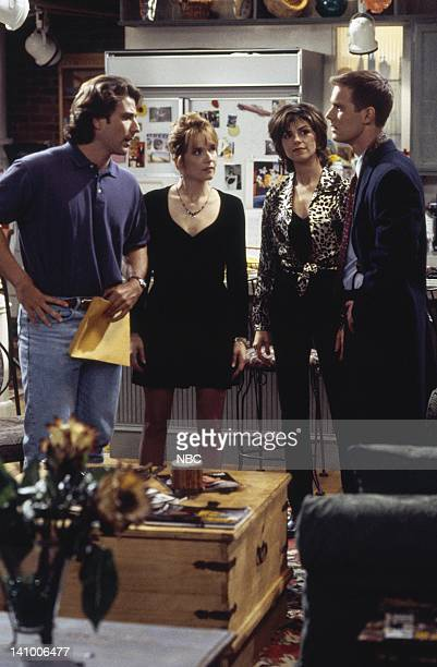 CITY 'Caroline and the Opera' Episode 7 Aired 11/9/95 Pictured Eric Lutes as Del Cassidy Lea Thompson as Caroline Duffy Amy Pietz as Annie Viola...