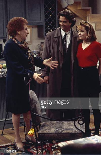 CITY 'Caroline and the Opera' Episode 7 Aired 11/9/95 Pictured Jean Stapleton as Aunt Mary Kosky Eric Lutes as Del Cassidy Lea Thompson as Caroline...