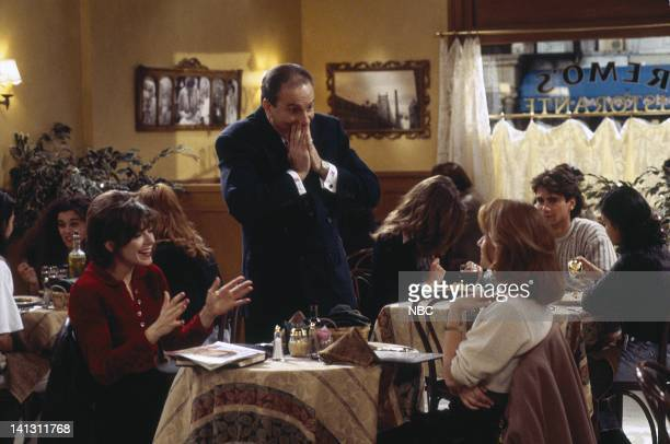CITY 'Caroline and the Proposal' Episode 16 Aired 2/22/96 Pictured Amy Pietz as Annie Viola Spadaro Tom La Grua as Remo Lea Thompson as Caroline...