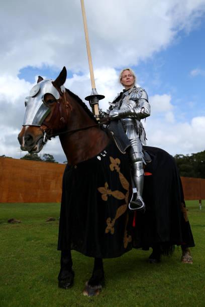 AUS: Jousters Prepare Ahead Of St Ives Medieval Faire