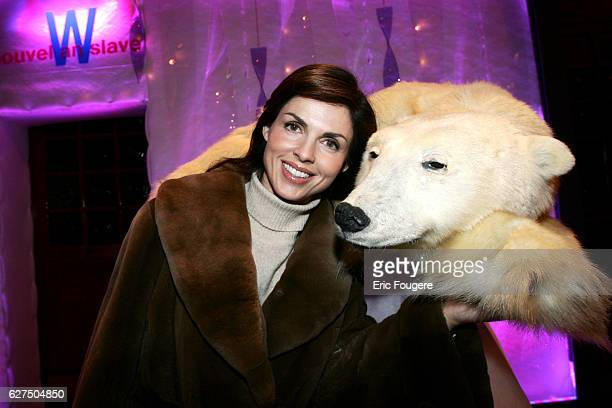 Caroline Barclay attending the Slav New Year party at Castel in Paris