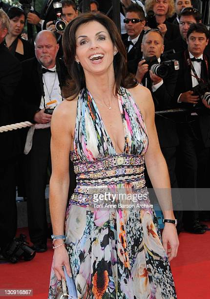 Caroline Barclay attends the 'Broken Embraces' Premiere at the Grand Theatre Lumiere during the 62nd Annual Cannes Film Festival on May 19 2009 in...