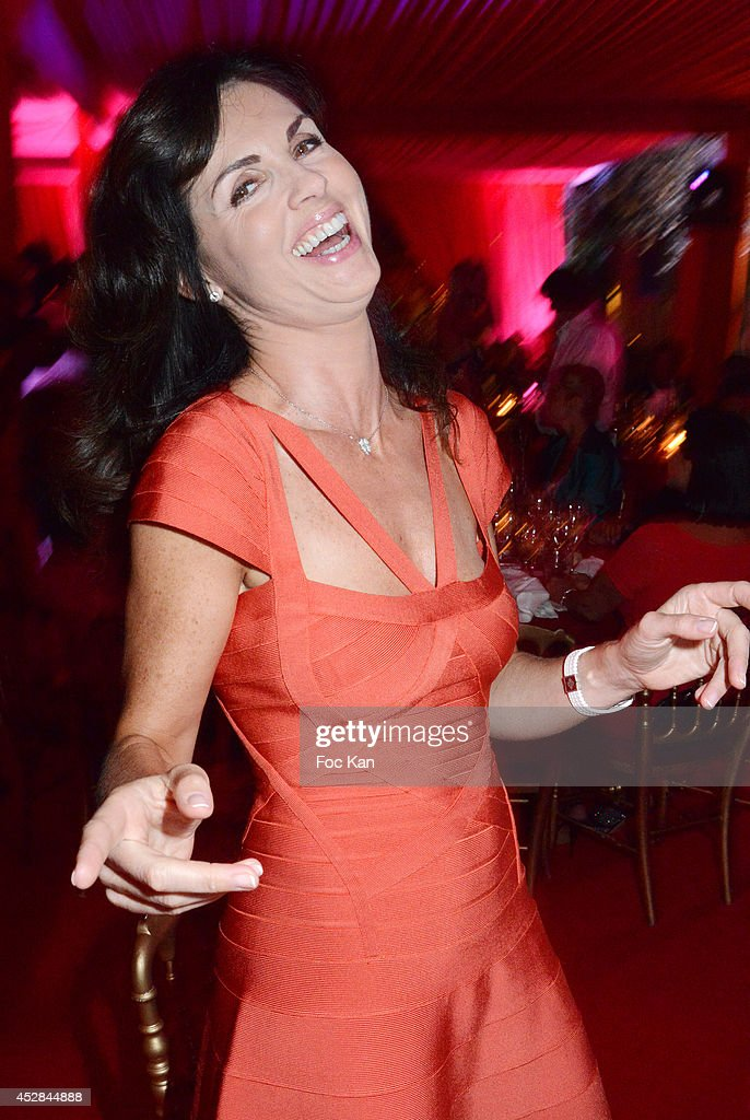 Caroline Barclay attends the Monika Bacardi Summer Party 2014 St Tropez at Les Moulins de Ramatuelle on July 27, 2014 in Saint Tropez, France.