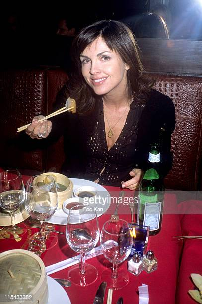 Caroline Barclay during Martell Cognac Chinese New Year Dinner Party February 22 2006 at Castel Club in Paris France