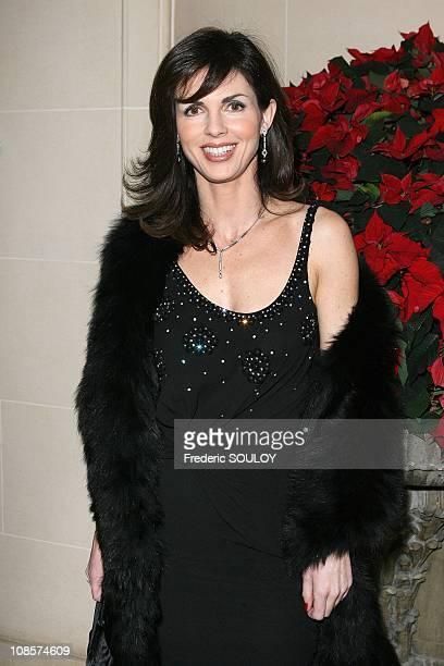 Caroline Barclay in Paris France on December 01 2008
