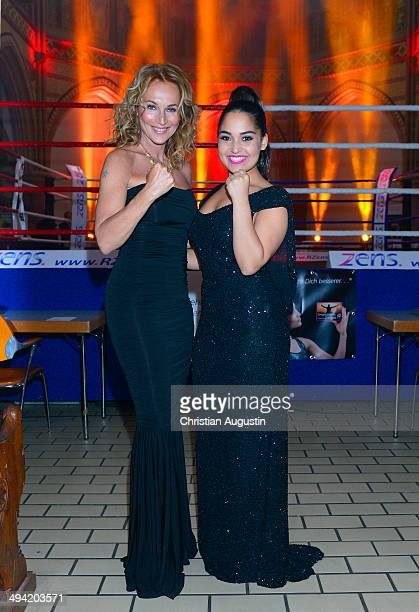 Caroline Beil and Bahar Kizil attend 'Charity BoxGala' at Kulturkirche Altona on May 28 2014 in Hamburg Germany