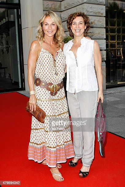 Caroline Beil and Isabel Varell attend the Wanawake Ladies Dinner at Hotel Zoo on July 05 2015 in Berlin Germany