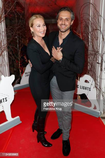 """March 09: Caroline Beil and Philipp Sattler during the """"Baltic Lights"""" gala night event on March 9, 2019 in Heringsdorf, Germany. The annual charity..."""
